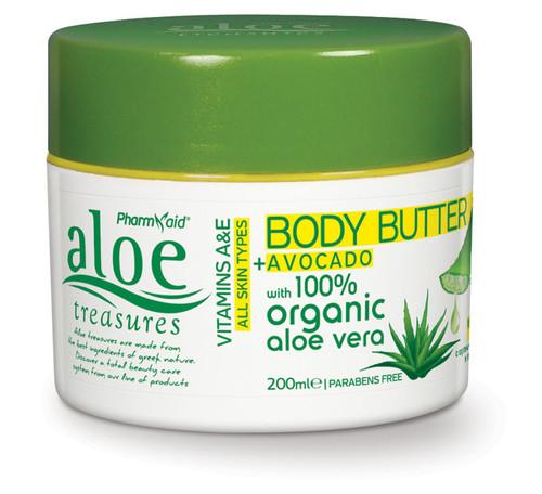 Aloe Treasures Body Butter Avocado (200ml)