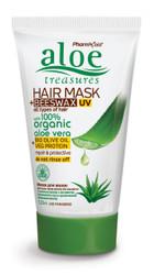 Aloe Treasures Hair Mask + Beeswax UV (120ml)