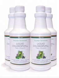Nature's Sunshine - Liquid Chlorophyll - 4 Pack (473ml x 4) - 4 x Bottles