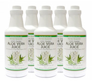 Nature's Sunshine - Aloe Vera Juice - 6 Pack (946ml x 6) - Bottle