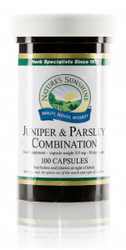 Nature's Sunshine - Juniper & Parsley Combination (100 Capsules) - Bottle