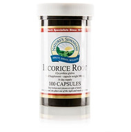 Nature's Sunshine - Licorice Root (100 Capsules) - Bottle