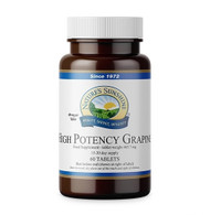 Nature's Sunshine - Grapine - High Potency (60 Tablets) - Bottle