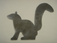 Squirrel Silhouette - Free Shipping