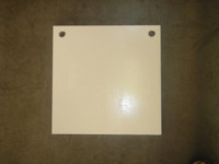"Square 12"" Gong Target - 1/2"" Thick Mild Steel"