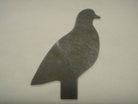 Pigeon Silhouette - Free Shipping