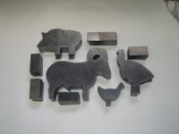 NRA  Silhouette Steel Target Kit Set 1/5 Scale