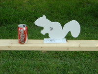 New Steel Squirrel Silhouette Target