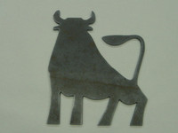Bull Silhouette - Free Shipping