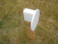 "Steel Challenge Target - 12"" Diameter 3/8"" Steel Plate"