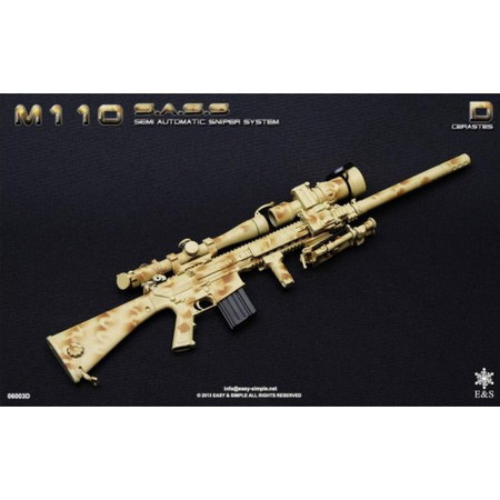Easy & Simple - M-110 SASS Rifle Set : Cerastes
