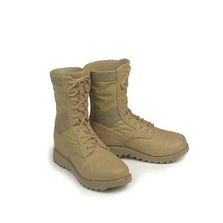 Toys City - Navy Seal Recon Diver : Tan Combat Boots (For Pegs)