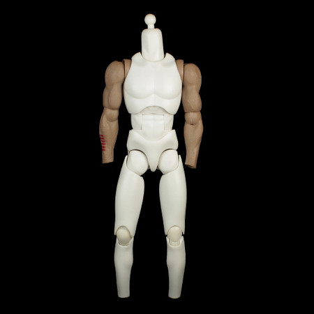 Sideshow - GI Joe Storm Shadow : Base body w/Neck Post