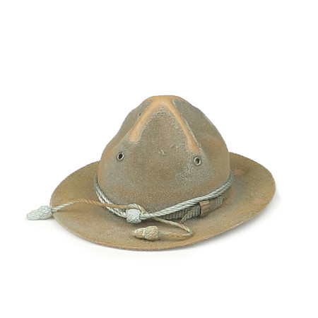 "DiD - WWI American Infantryman ""Buck Jones"" Special Edition : Campaign Hat (Weathered)"