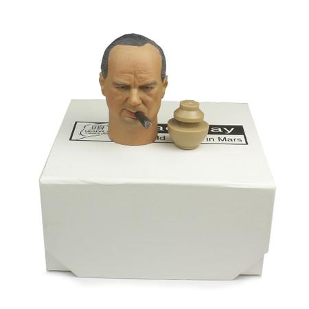 "Headplay - Boxed Head w/Joint ""Winston"""