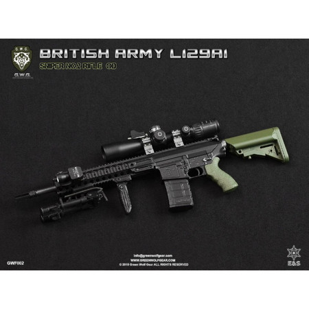 Green Wolf Gear - British L129A1 (Sniper No. 2 Rifle) : OD