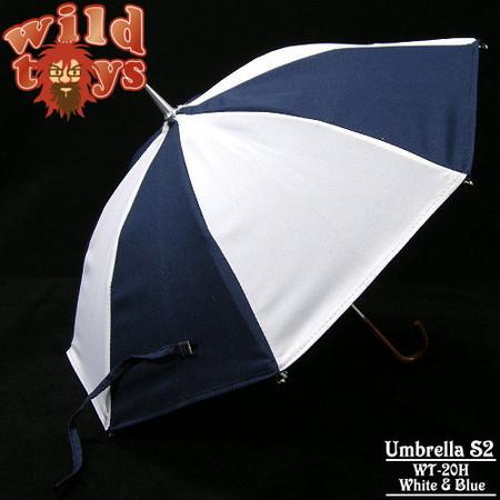 Wild Toys - Umbrella S2 (Blue/White)