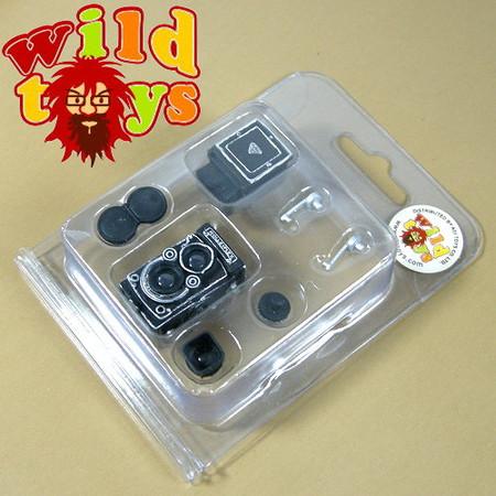 Wild Toys - Rollieflex Camera (Silver)