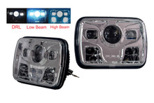 "OZ-USA® 7""  48w DOT Approved HI/LO Beam LED Headlight with DRL. Sealed-Type Beam. H6054, H5054, H6054LL, 69822, 6052, and 6053. (1 pair)"