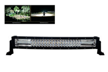 "Curved T Series 20"" OZ-USA® Triple Row LED Light Bar Combo Beam (Flood+Spot) with Security Hardware Kit Offroad 4x4 Truck SUV"