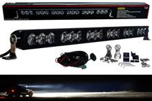 "HD Series 30"" OZ-USA® 180w High Output LED Halo Rings Advance Optic Anti-Glare Lens Single Row Light Bar Off Road Fog lights"