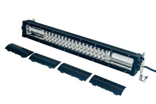 """T Series 20"""" OZ-USA® Triple Row LED Light Bar Combo Beam + Black Lens Cover with Security Hardware Kit Offroad 4x4 Truck SUV"""