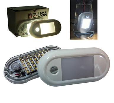 5 motion sensor rv led porch light fixture security marine boat image 1 aloadofball Choice Image