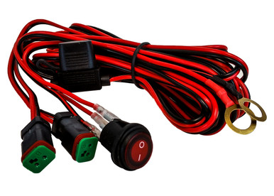 double dt pod harness plug wiring kit 16 awg 30a fuse box lighted rh oz usa com Old 30 Amp Fuse Box Old 30 Amp Fuse Box