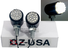 Motorcycle Fog LED Light  OZ-USA® Enduro Touring BMW Honda ATV 6000k 12 volts