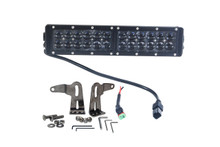 "HO 120W 12"" OZ-USA® HO Series High Output  Double Row LED light bar. 4x4 Offroad truck"