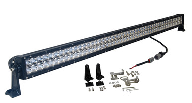 Led light bars 3d 300w 52 inch oz usa light bar spot flood combo led off road aloadofball Choice Image