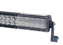 "6"" CLEAR FLOOD OZ-USA® BAR COVER led light dual row 36w 72w 180w 288w 9"" 18"" 30"" 50"" cree fog 4x4"