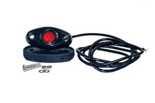 Red Rock Light LED for crawling under body frame fender 4x4 offroad