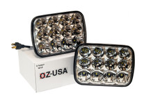 OZ-USA® 5x7 60w Rectangular Auto  LED Headlight.  HI/LO Beam H6054, H5054, H6054LL, 69822, 6052, and 6053. (1 pair)