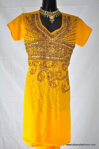 Charming Yellow Churidar Suit