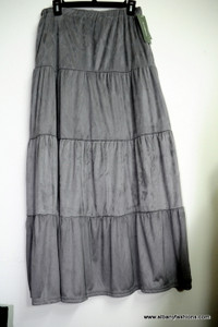 Grey NY Collection long skirt Size M