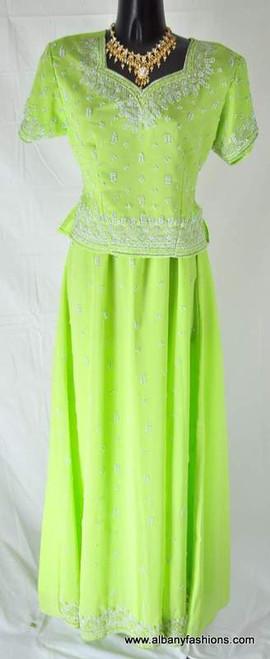 Lenga Choli- Green