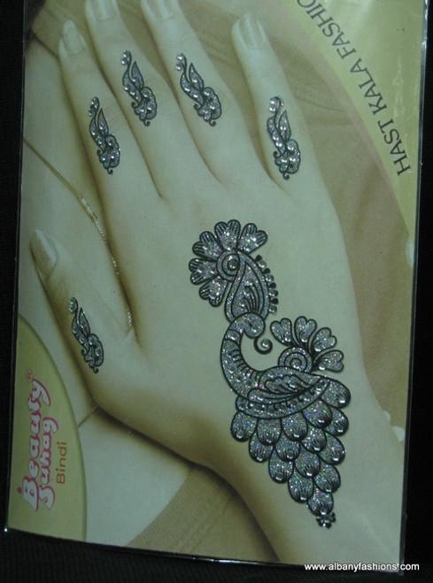 Indian Mehandi Tatoo Henna temporary removable Sticker Mehandi_Tattoo_10017