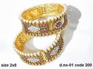 Kada Bangles (2 bangles) D01