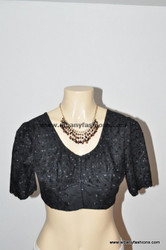 Black Readymade Blouse