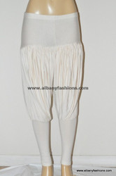 Cream patiyalla leggings