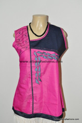 pink-Plus size Indian Kurti-Size28