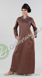Brown-AJ302-Abaya