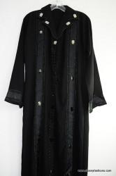 Black Stripes 2011 Abayas / Jilbabs / Hijabs / Indian Burka