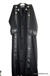 Black stripes on the side Abayas / Jilbabs / Hijabs / Indian Burka