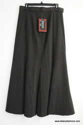 Black color stretch skirt size 10