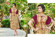 Dirty Blonde POONAM BIBA RAYON SUMMER COLLECTION Kurti
