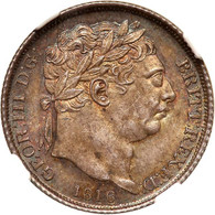 Great Britain 1816 Sixpence NGC graded MS65