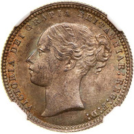 Great Britain 1872 Shilling NGC MS-65. WINGS Approved.