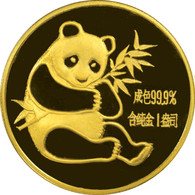 1982 Panda 100 Yuan 1 oz Gold NGC MS69 - NONE FINER